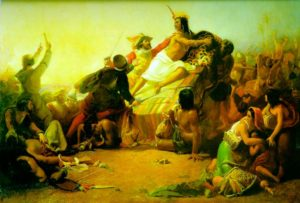 Zajetí krále Inků
