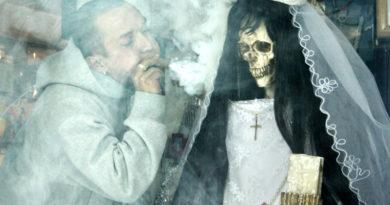 V Mexiku vítězí podivný kult smrti