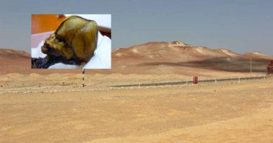 Může být šokující mumie tajemnou bytostí Duende?