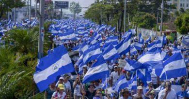 Bouřlivá Nikaragua