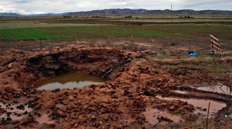 Dopad meteoritu vCarancas
