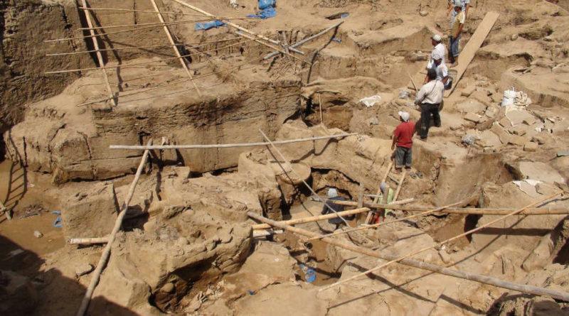 Podivný hrob starých obyvatel kultury Sicán