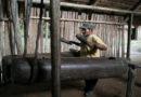 Tradiční nástroj amazonských divokých kmenů