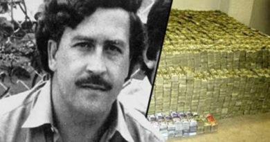 Bylo nalezeno 18 milionů dolarů Pablo Escobara